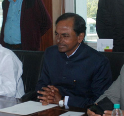 CM KCR in Prime Ministers meeting