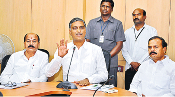 Harish Rao press meet on Rahul gandhi visit to telangana