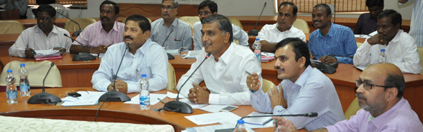 Harish Rao review meet with distict collectors on cotton purchase