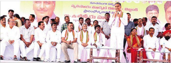Harish-Rao-laid-foundation-stone-for-Thotapally-Reservoir
