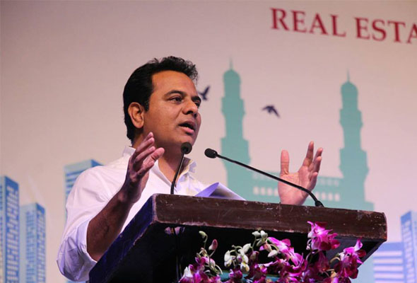 KTR addressing in Real Estate Assoiciation Meeting