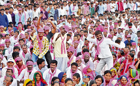 TRS Public Meeting at Narayanked