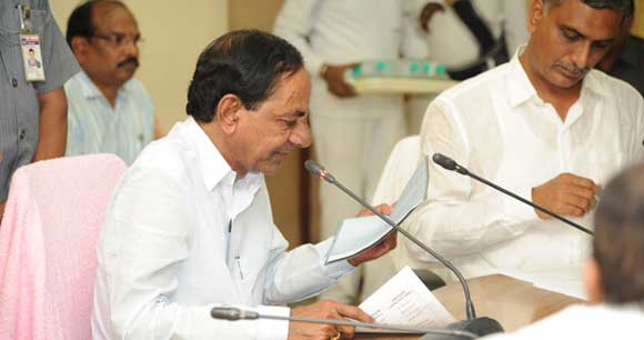 cm-kcr-review-on-rains-and-floods-in-karimnagar